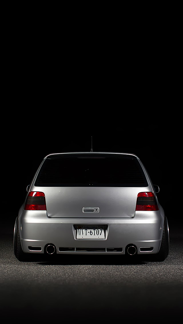 IPhone Retina Wallpapers For IPhone 55C5S66Plus VW Golf MK4 640x1136