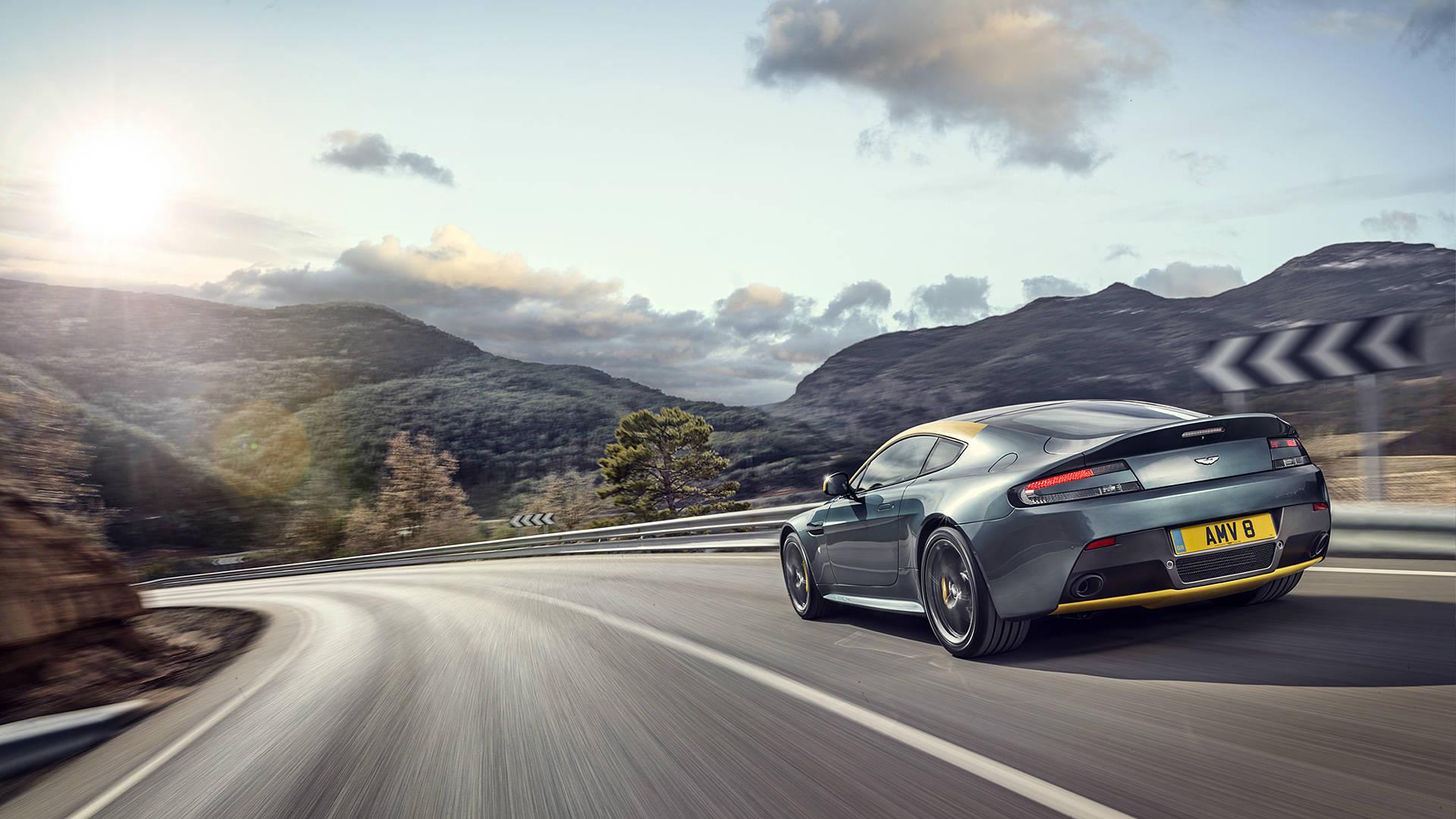 2015 Aston Martin V8 Vantage N430 Car Hd Wallpaper   HD 1920x1080