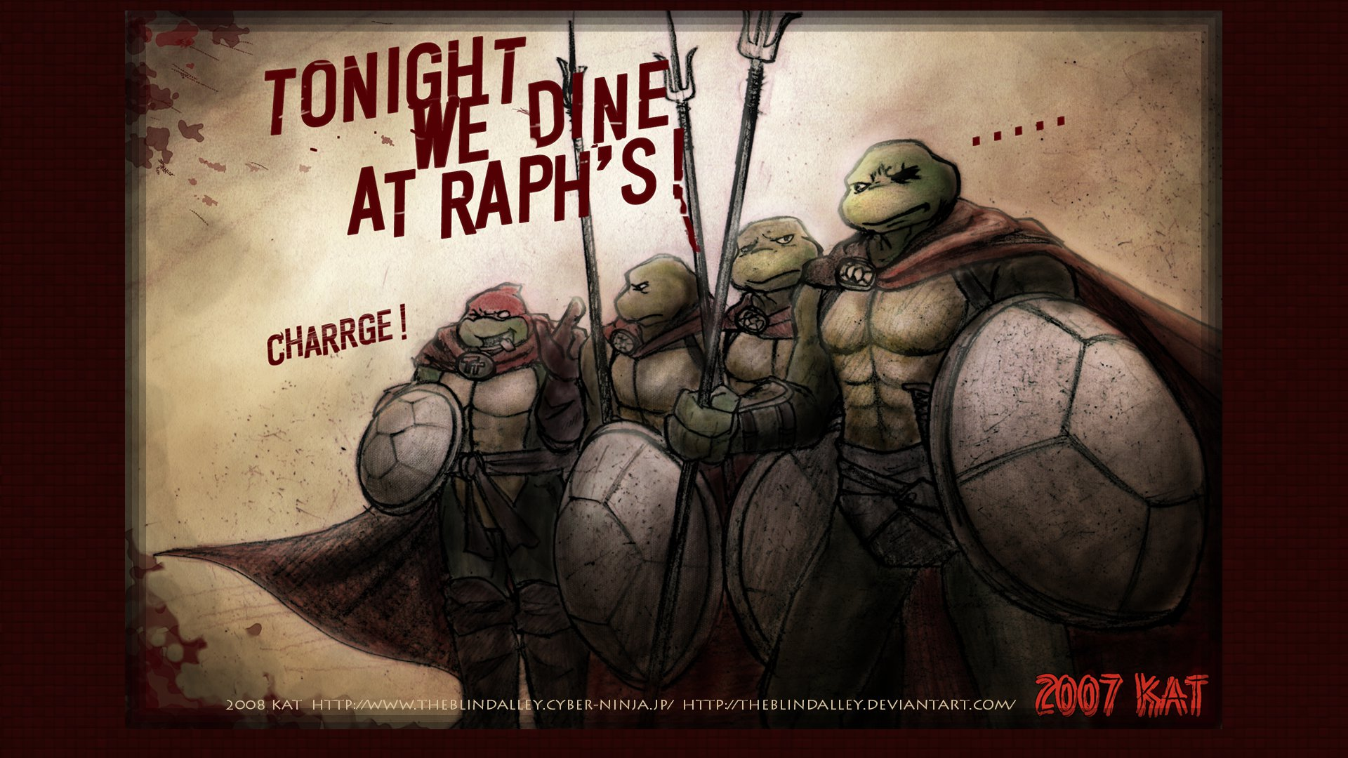 TMNT wallpaper HD 4 by theblindalley 1920x1080