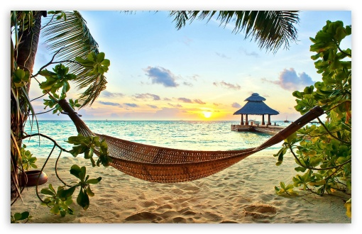 Hd Tropical Island Beach Paradise Wallpapers And Backgrounds: High Definition Tropical Wallpapers