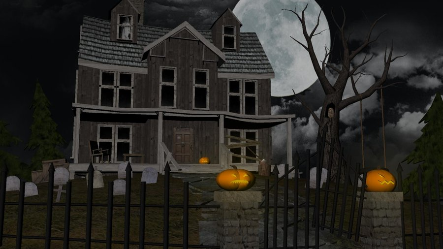 Haunted House 3d Screensaver Screenshot 1 Pictures 900x506