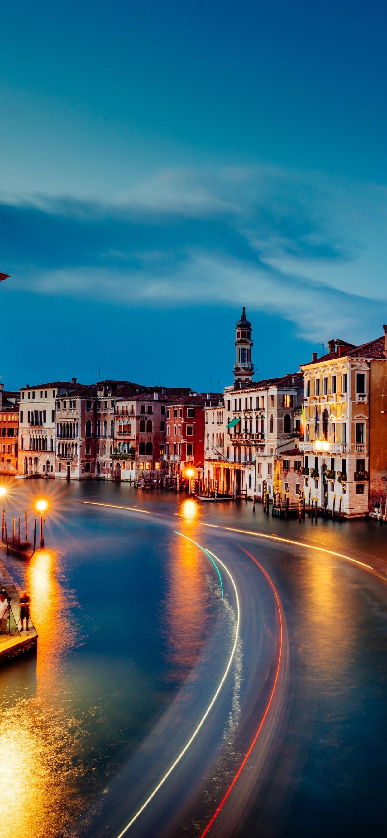 Night Venice beautiful italy wallpaper Gallery 1242x2688