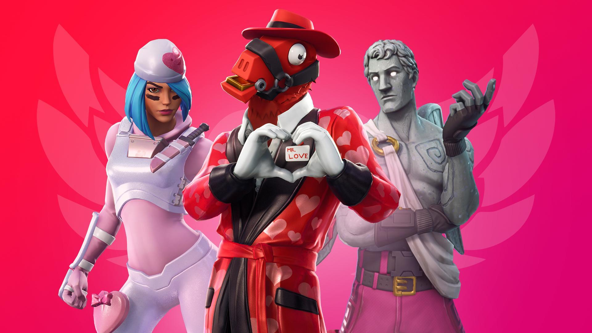Valentines Day 2019 Fortnite shares the love Candy Crush 1920x1080