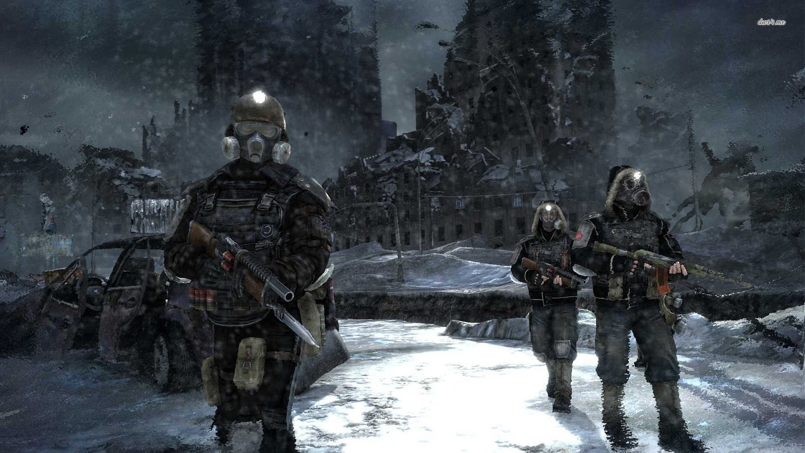 Wallpapers HD Wallpapers Metro Last Light   Game 2013 1600x900