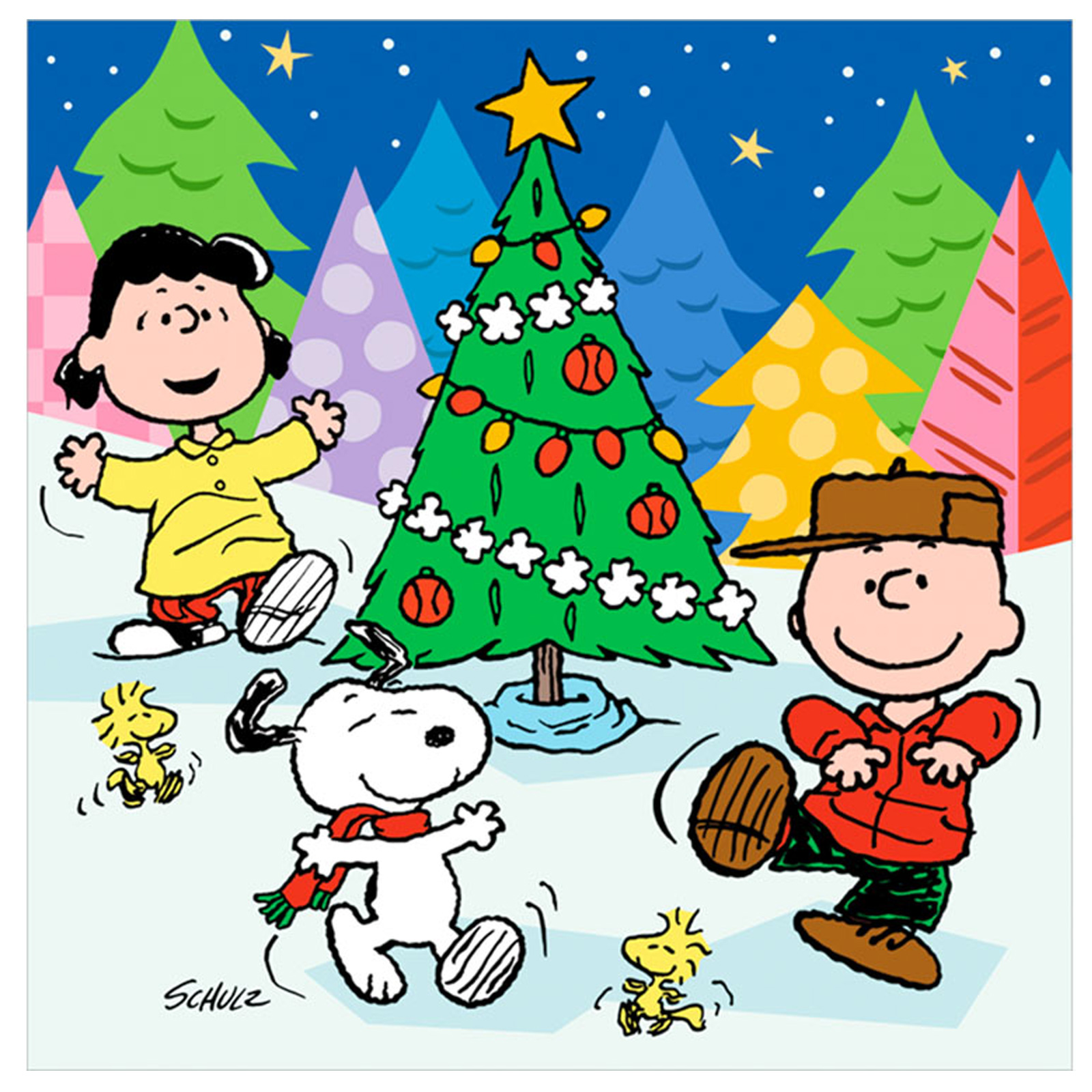 CHARLIE BROWN peanuts comics snoopy christmas by wallpaperupcom 1600x1600