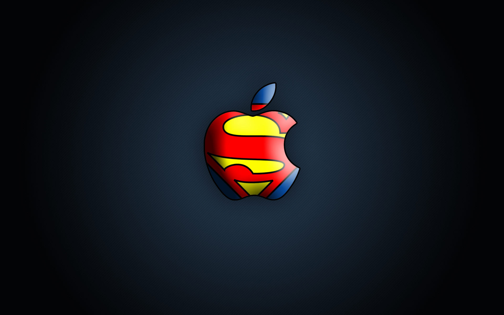 so i was trying to dress up my mac with a cool superman mac wallpaper 1920x1200