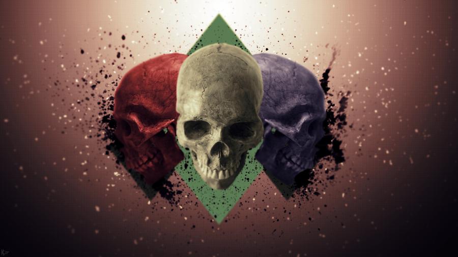 Skull Kids Wallpaper by Karl97 900x506