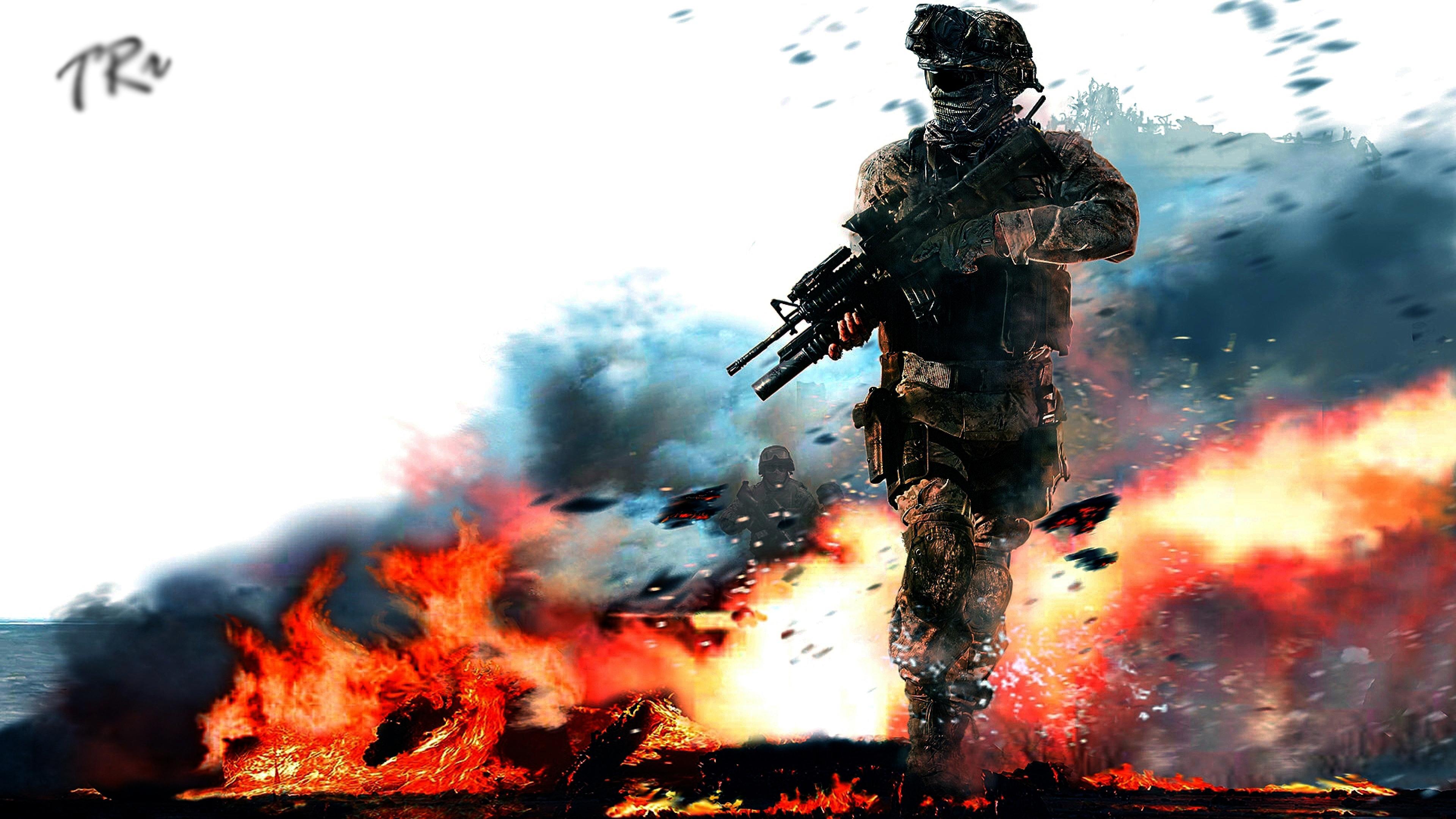 Call of Duty Modern Warfare  № 3671668 бесплатно