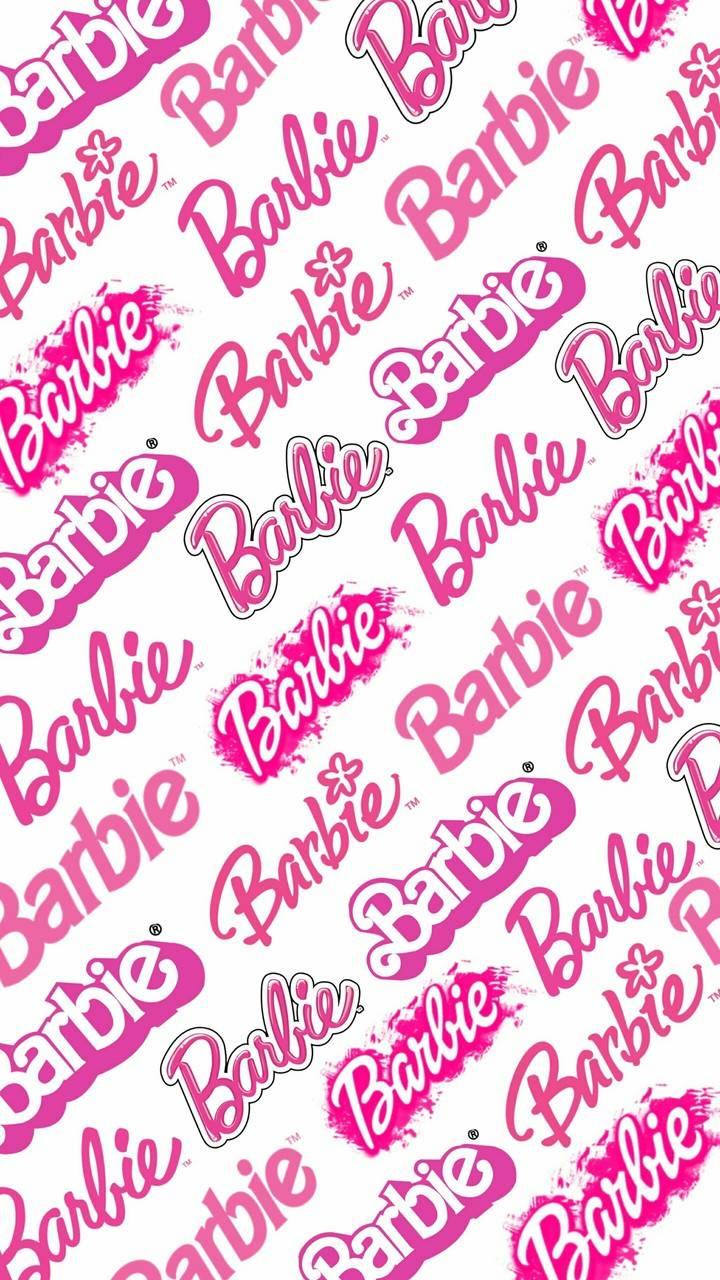 Barbie Logo Wallpapers   Top Barbie Logo Backgrounds 720x1280