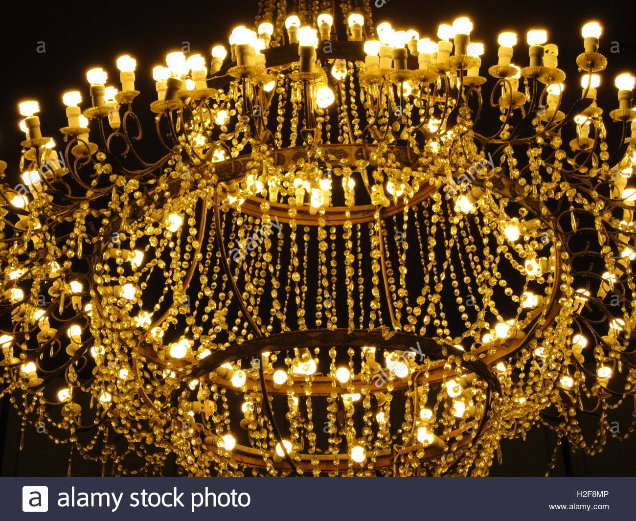a beautiful chandelier on dark background Stock Photo 122038022 1300x1065