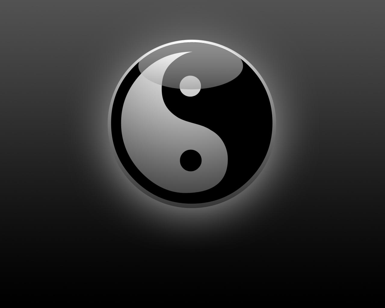 Chinesische Ying Yang Drachen Wallpaper   LiLzeu   Tattoo DE 1280x1024