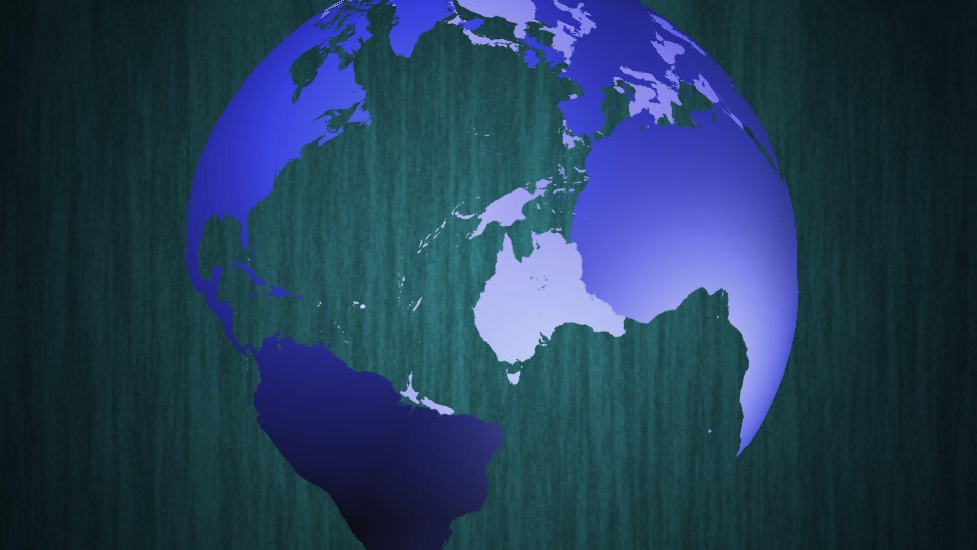 49 ] Spinning Globe Wallpaper On WallpaperSafari