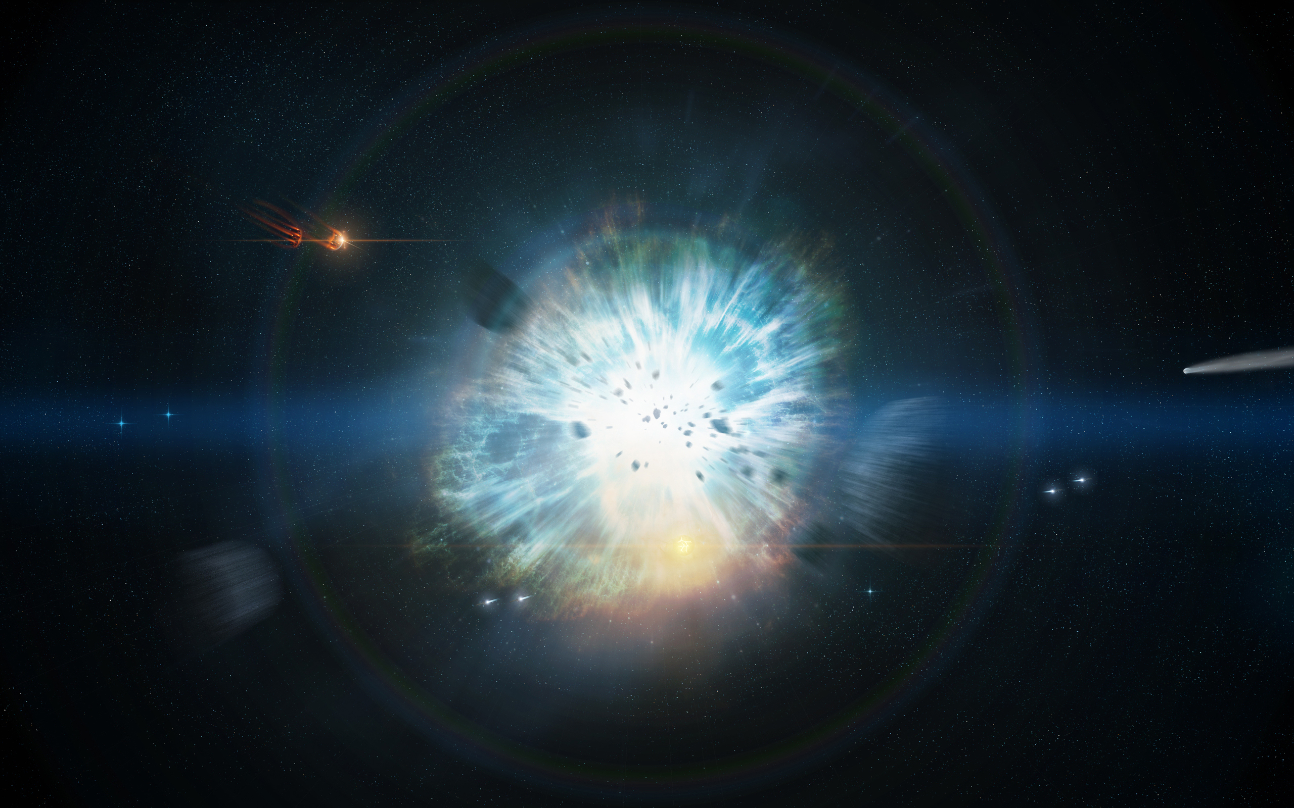Supernova Explosion in Space Wallpaper page 3   Pics about space 2560x1600
