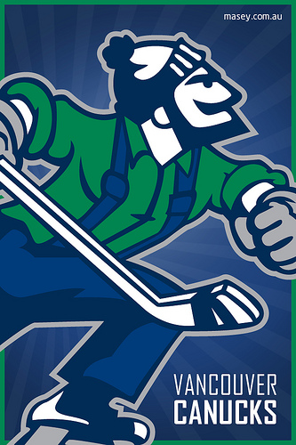 Vancouver Canucks Johnny Canuck iPhone 4 Wallpaper Flickr   Photo 333x500