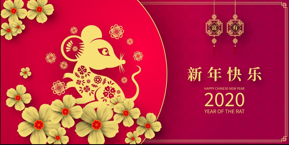 Chinese New Year 2020 Singapore New Year 2020 Hd Wallpaper 1001x503