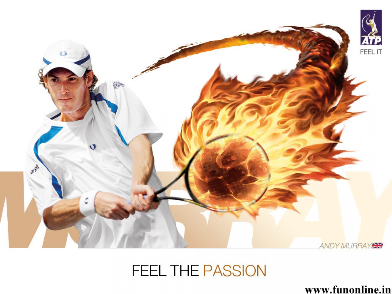 Andy Murray ATP World Tour Wallpaper 1280x960