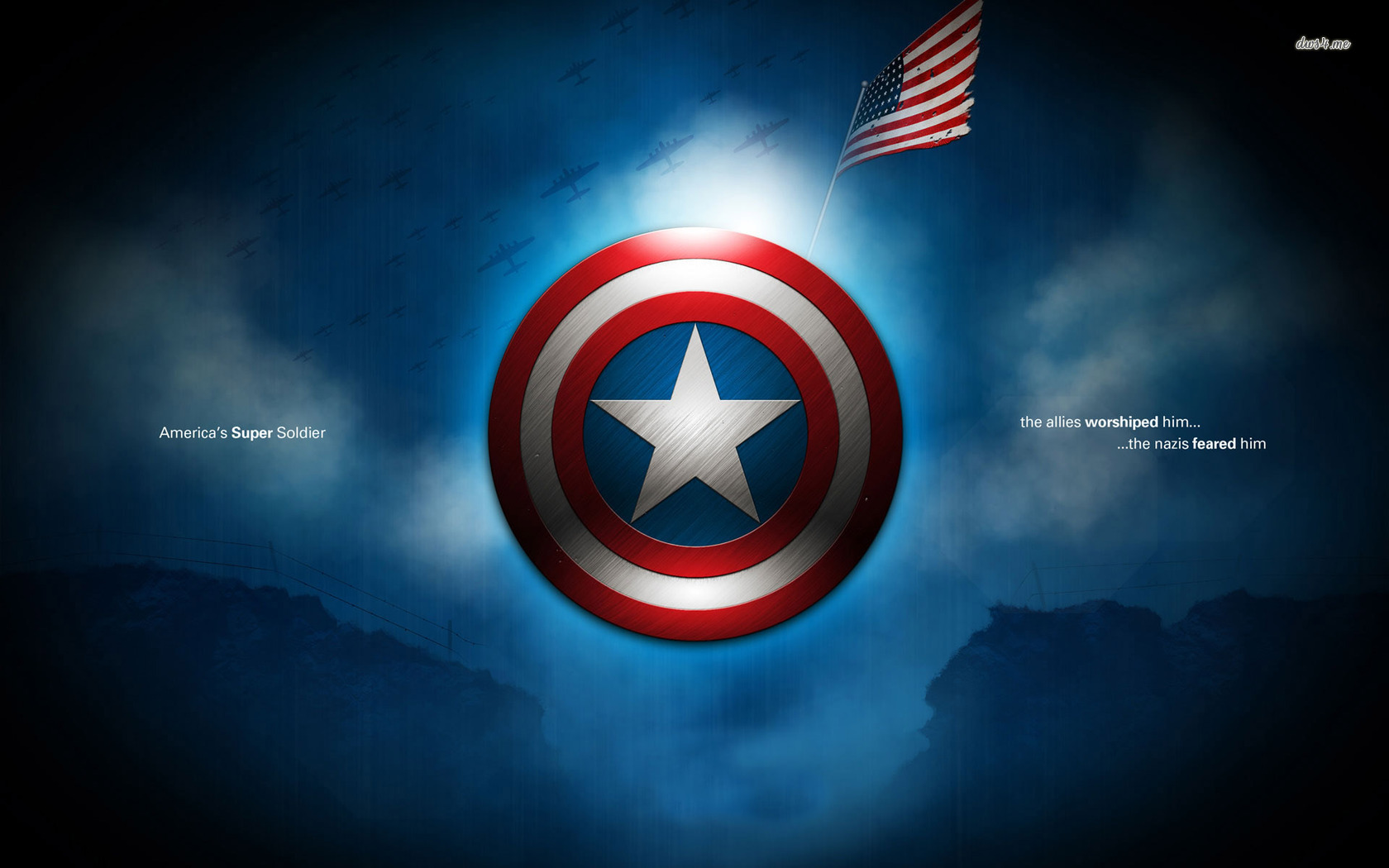 Captain America logo wallpaper   Movie wallpapers   7145 1680x1050