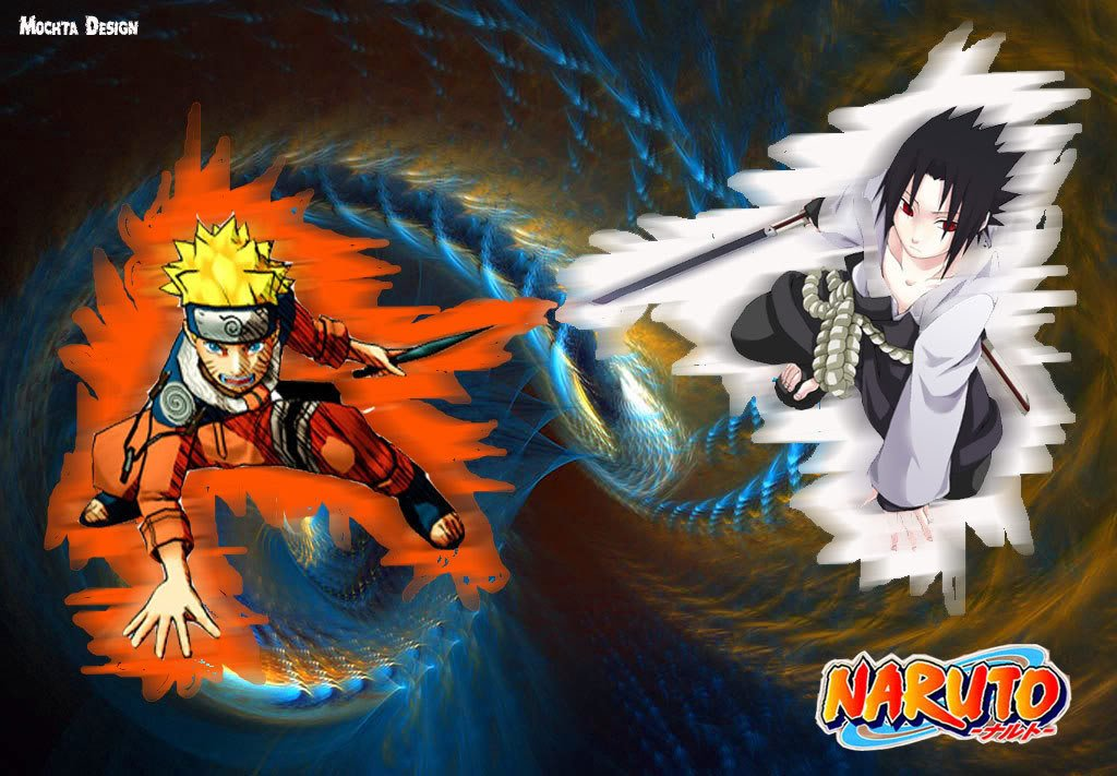 Naruto vs sasuke hd wallpaper wallpapersafari - Naruto as sasuke ...