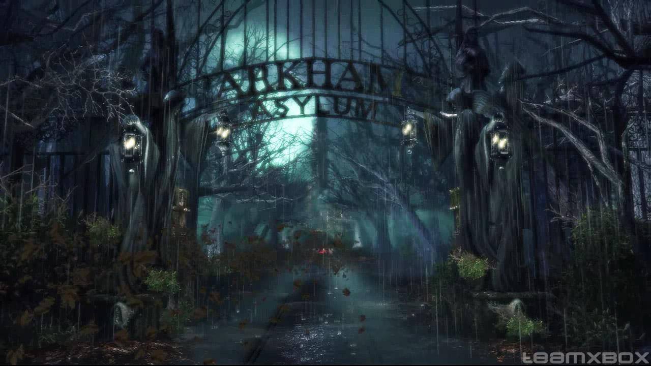 Oyunun tamam Arkhamda geiyor fakat tek bir binada deil Geni 1280x720