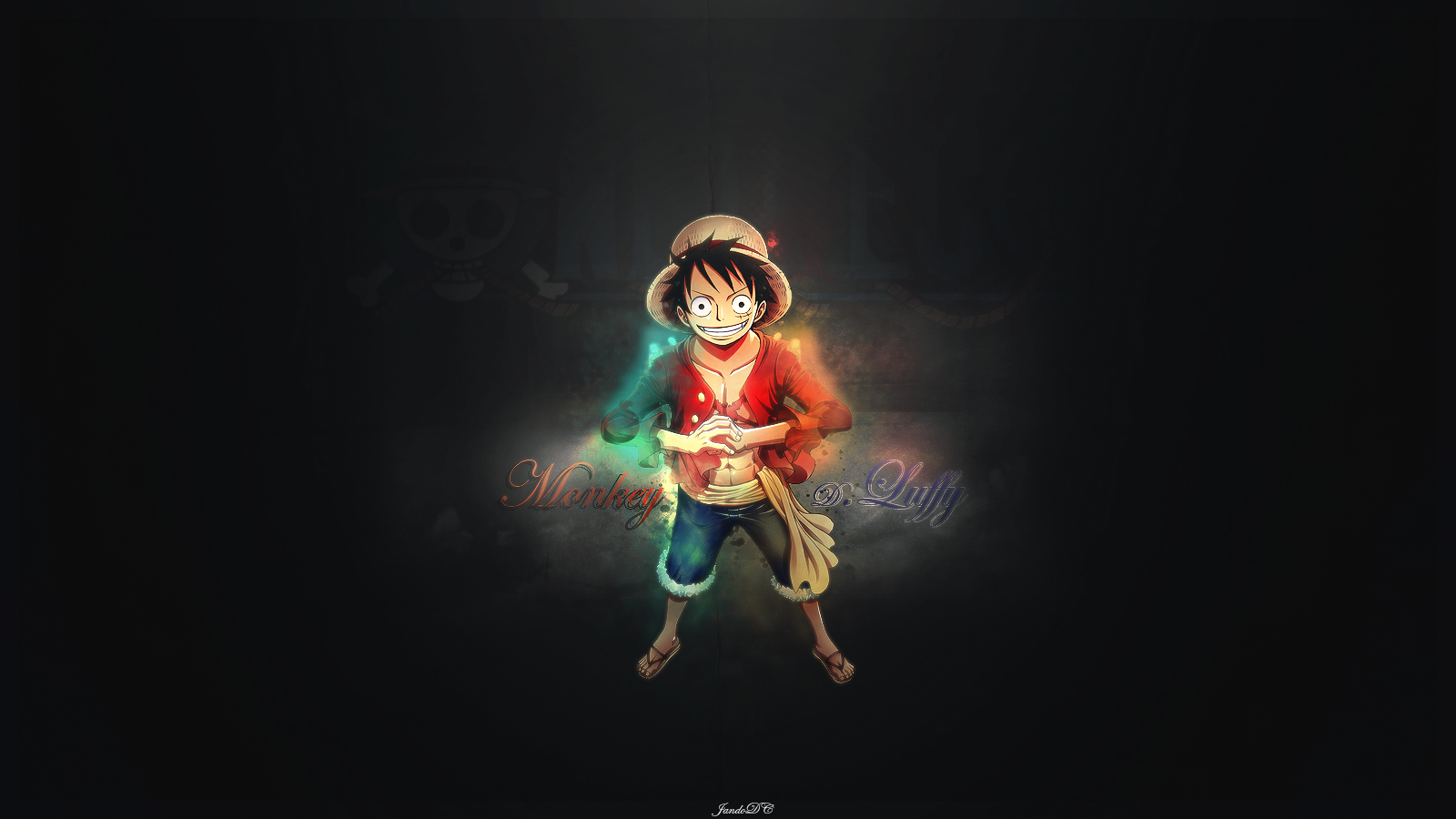 Wallpaper iphone monkey - Monkey D Luffy In Black Hd Wallpapers Monkey D Luffy Wallpapers