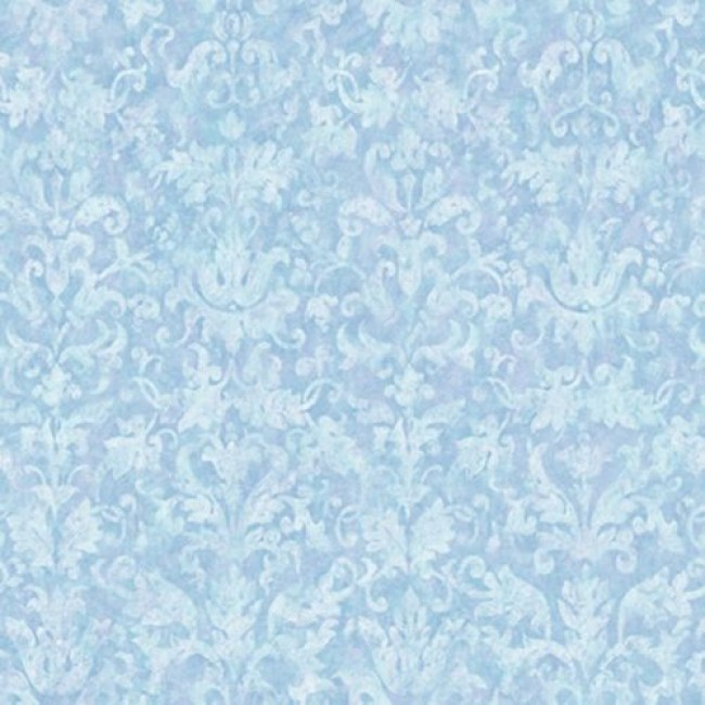 46 Light Blue Damask Wallpaper On Wallpapersafari