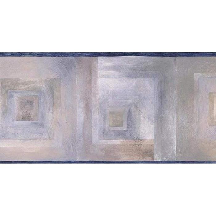 Dark Blue Abstract Wallpaper Border 700x700