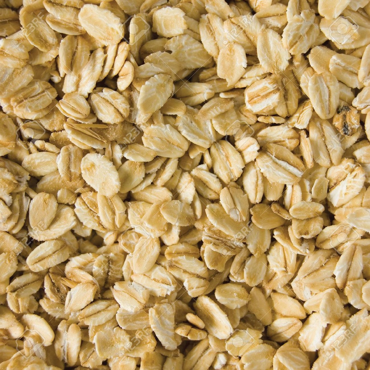 Oatmeal Background Rolled Raw Oats Detailed Macro Closeup Stock 1300x1300