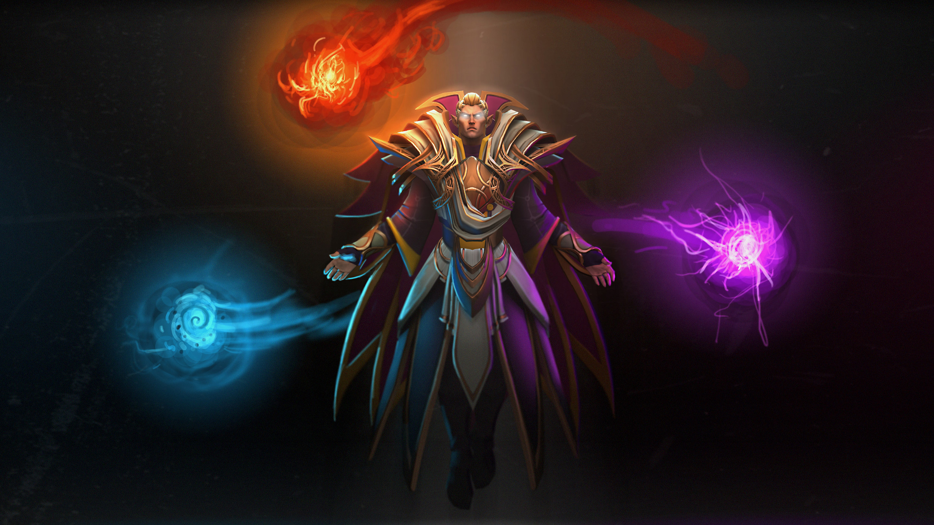 invoker dota 2 set game hd wallpaper 1920x1080 1080p full resolution 1920x1080