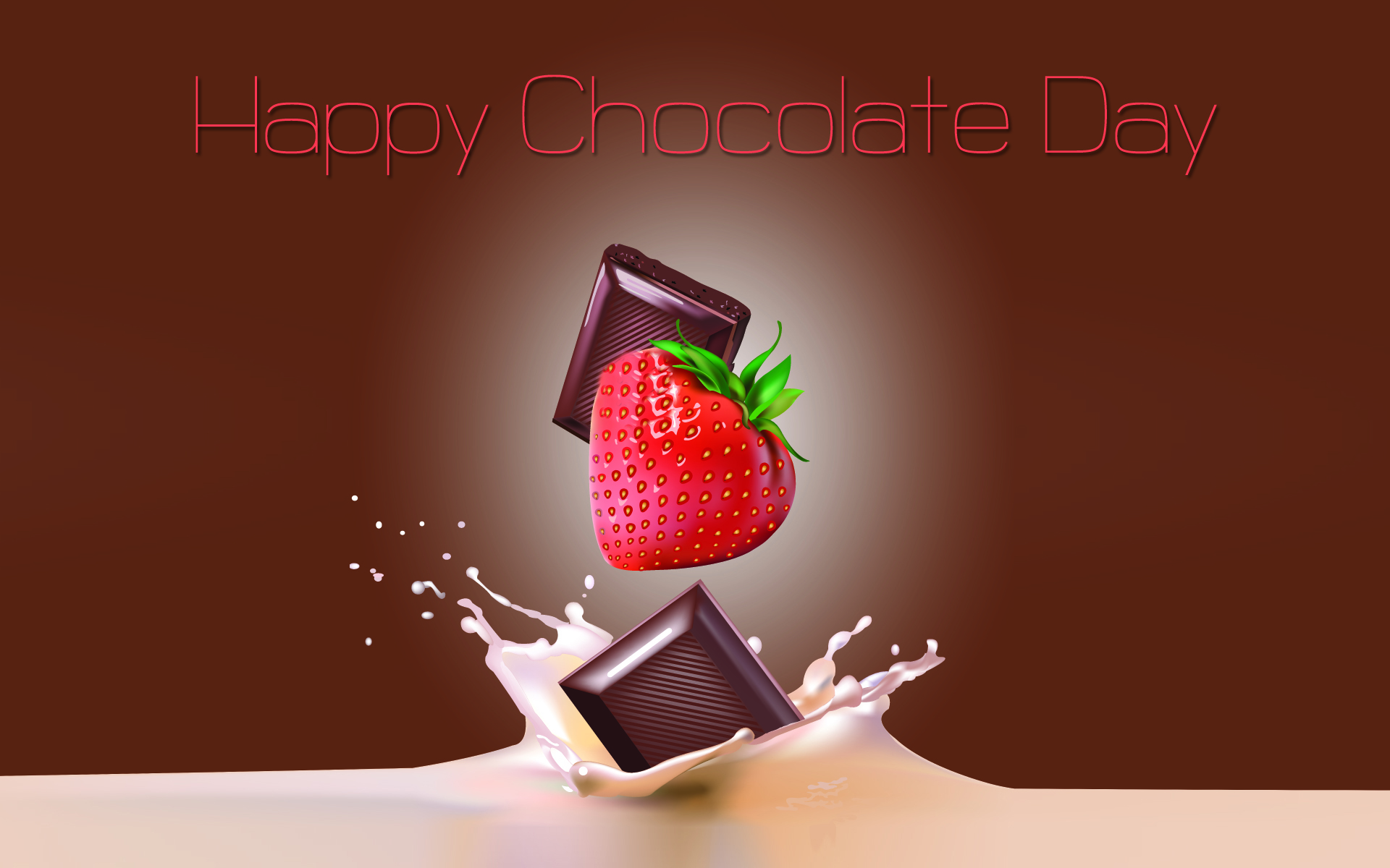 Chocolate Day Desktop Wallpaper 12565   Baltana 1920x1200