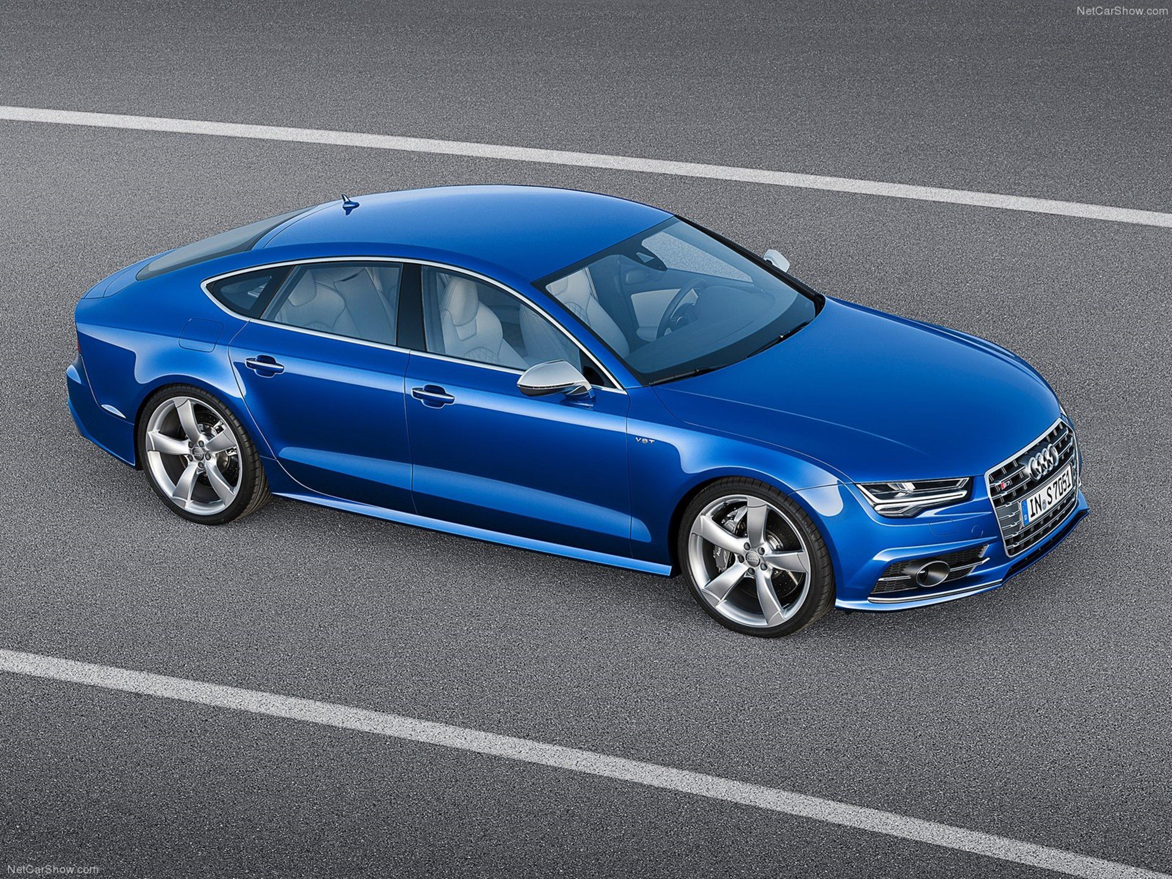 Audi S7 Sportback 2015 Car Germany Supercar Blue wallpaper 4000x3000 4000x3000