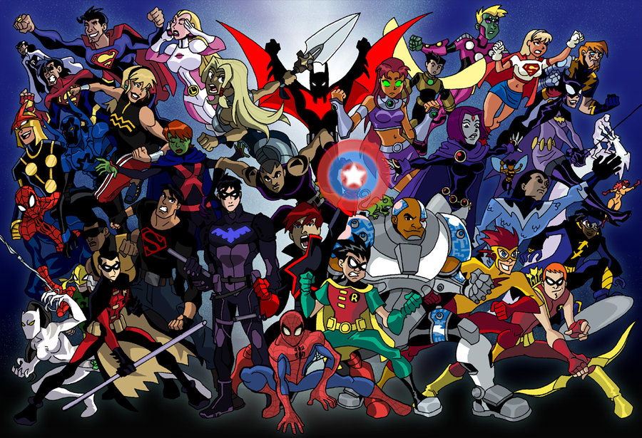 Young Justice Wallpaper Wallpaper Collective 900x615