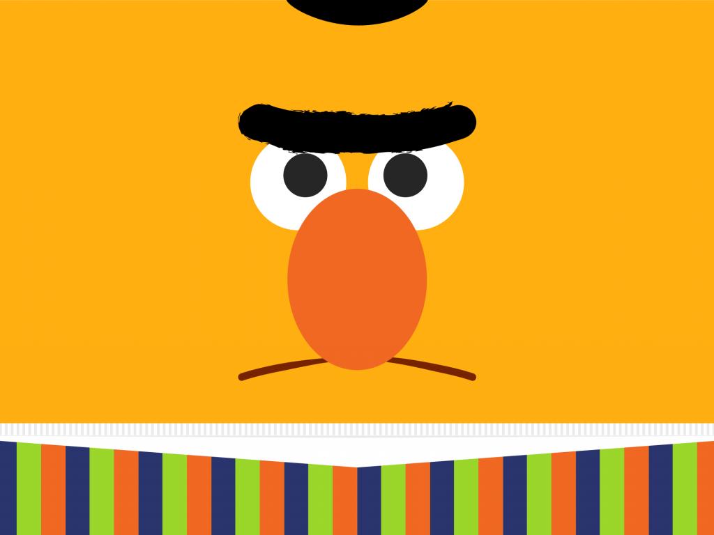 Wallpaper Of Bert From Sesame Street PaperPull 1024x768