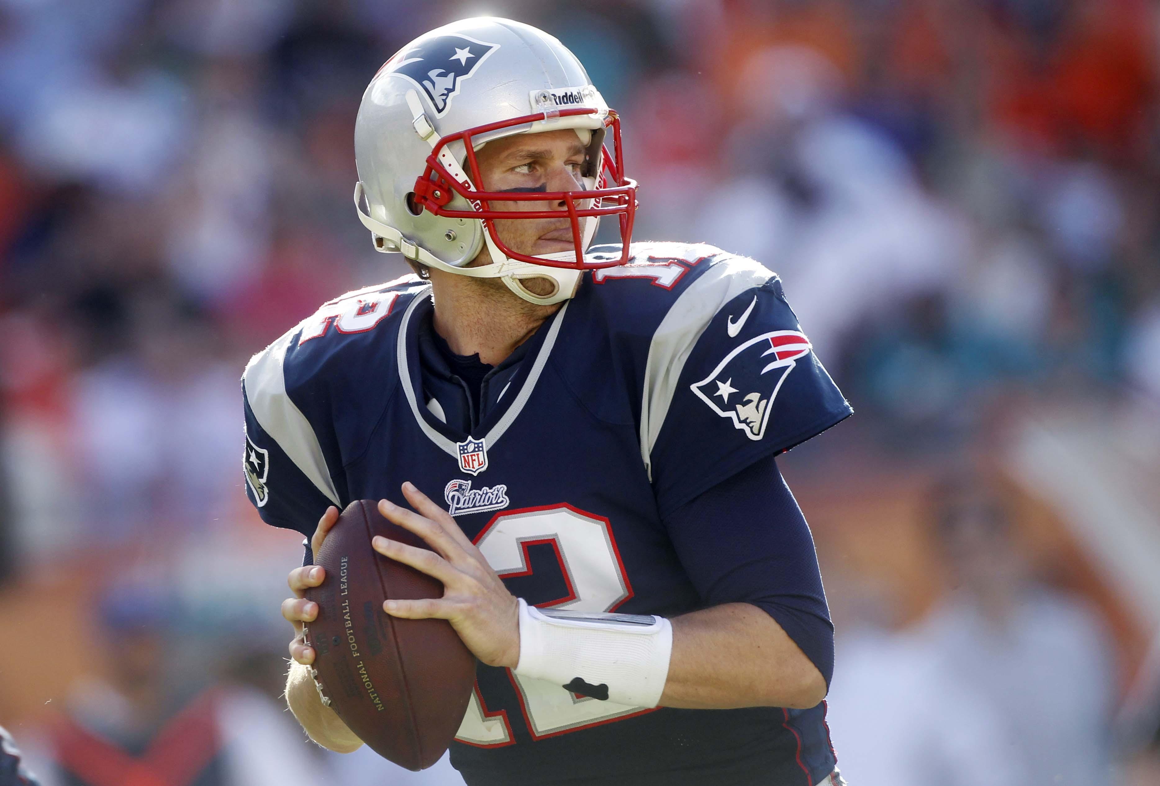 New England Patriots Quarterback Tom Brady was suspended four games 3736x2532