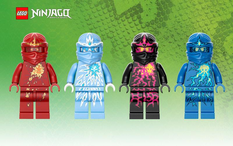 EDIT LEGO Ninjago NRG Ninja Wallpaper   General Art   BZPower Forums 800x500