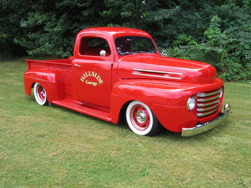 classic ford 1948 Ford Hot Rod truck Cars Ford HD Desktop 800x600