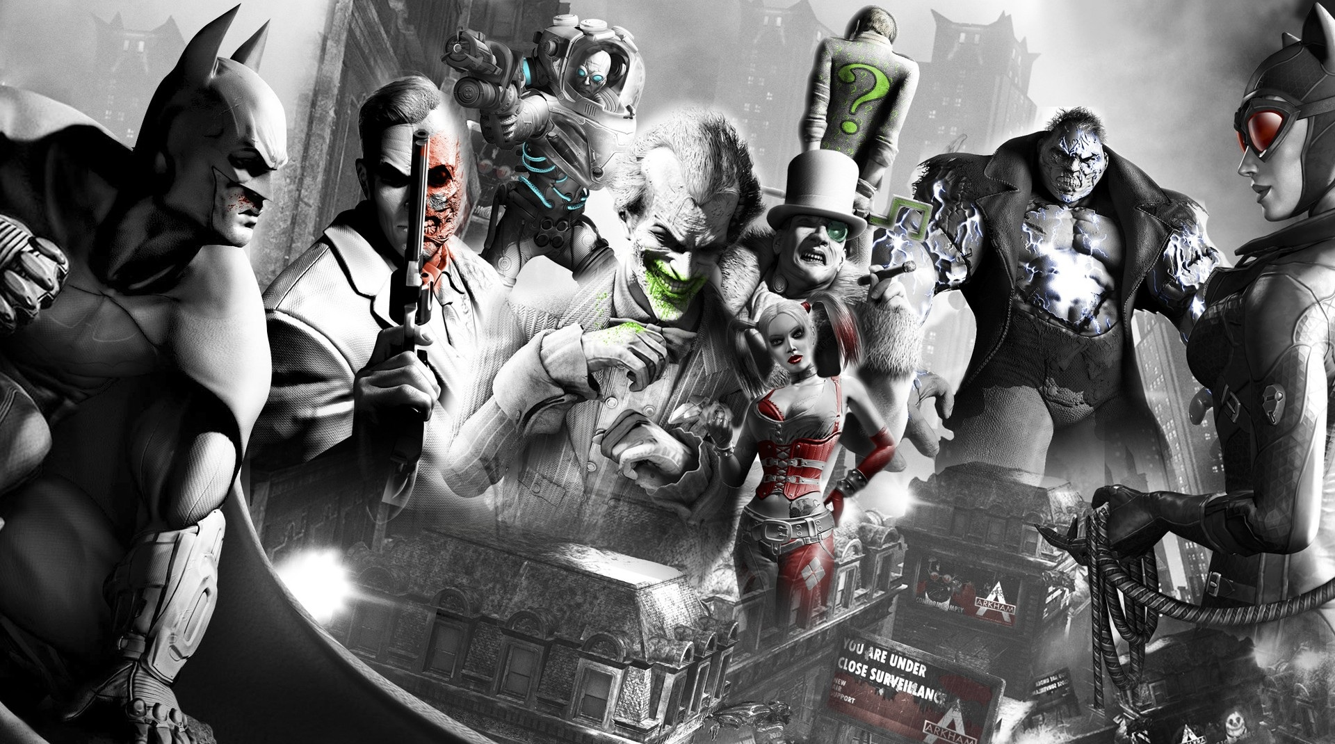 Batman Arkham City Computer Wallpapers Desktop Backgrounds 1920x1070