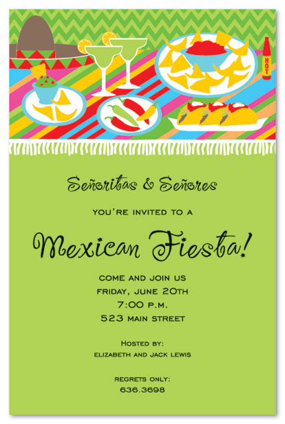 Free Download Mexican Themed Background Fiesta Table