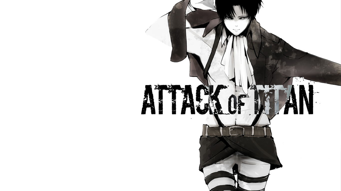 Levi Attack on Titan 2135 HD Wallpaper 1366x768