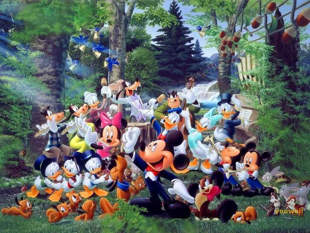 Desktop Wallpaper Halloween Disney 1024x768