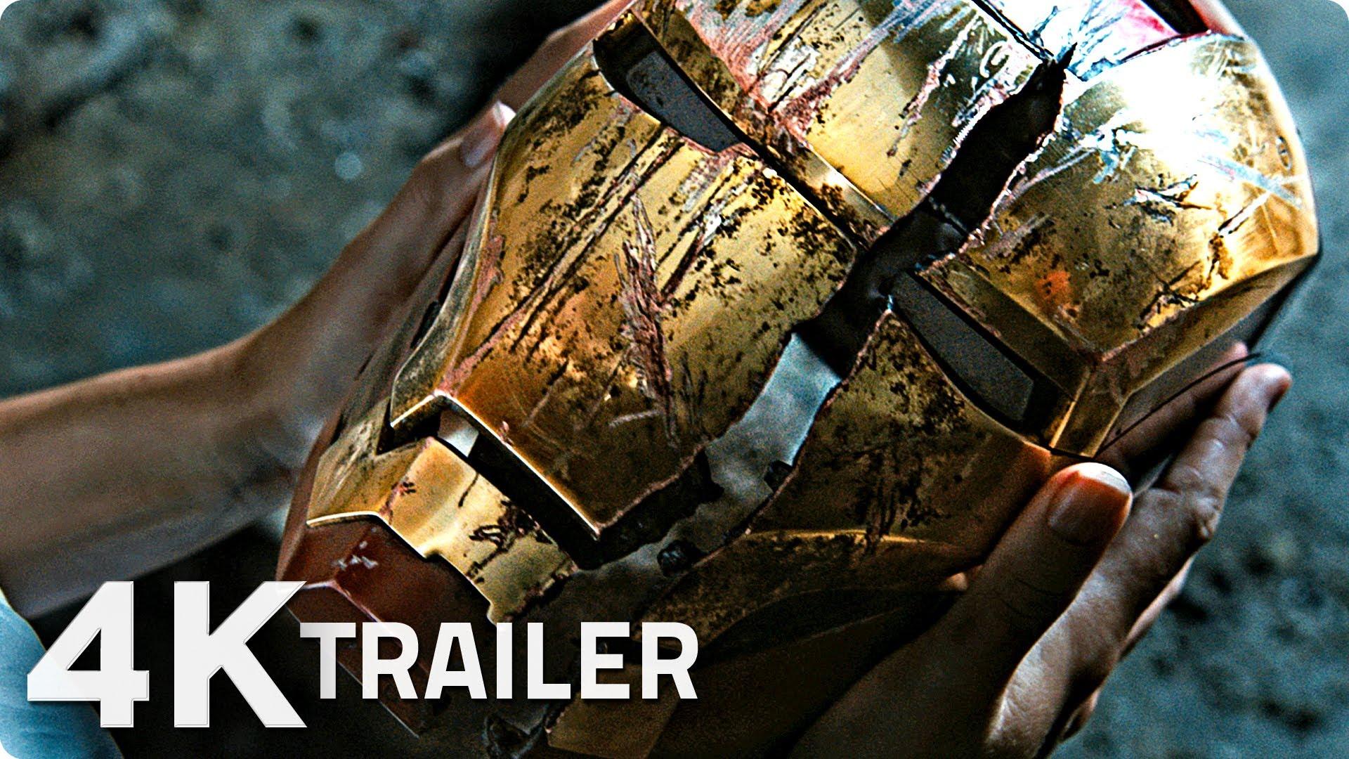 IRON MAN 3 Trailer 4 German Deutsch [4K] Marvel 1920x1080