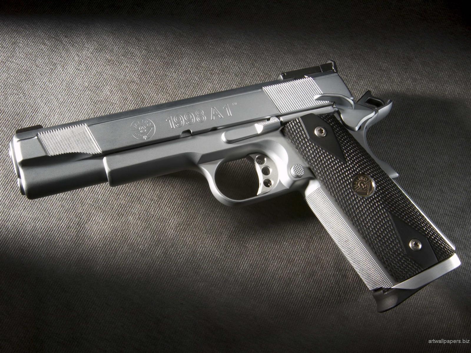 Gun Images Wallpapers - WallpaperSafari