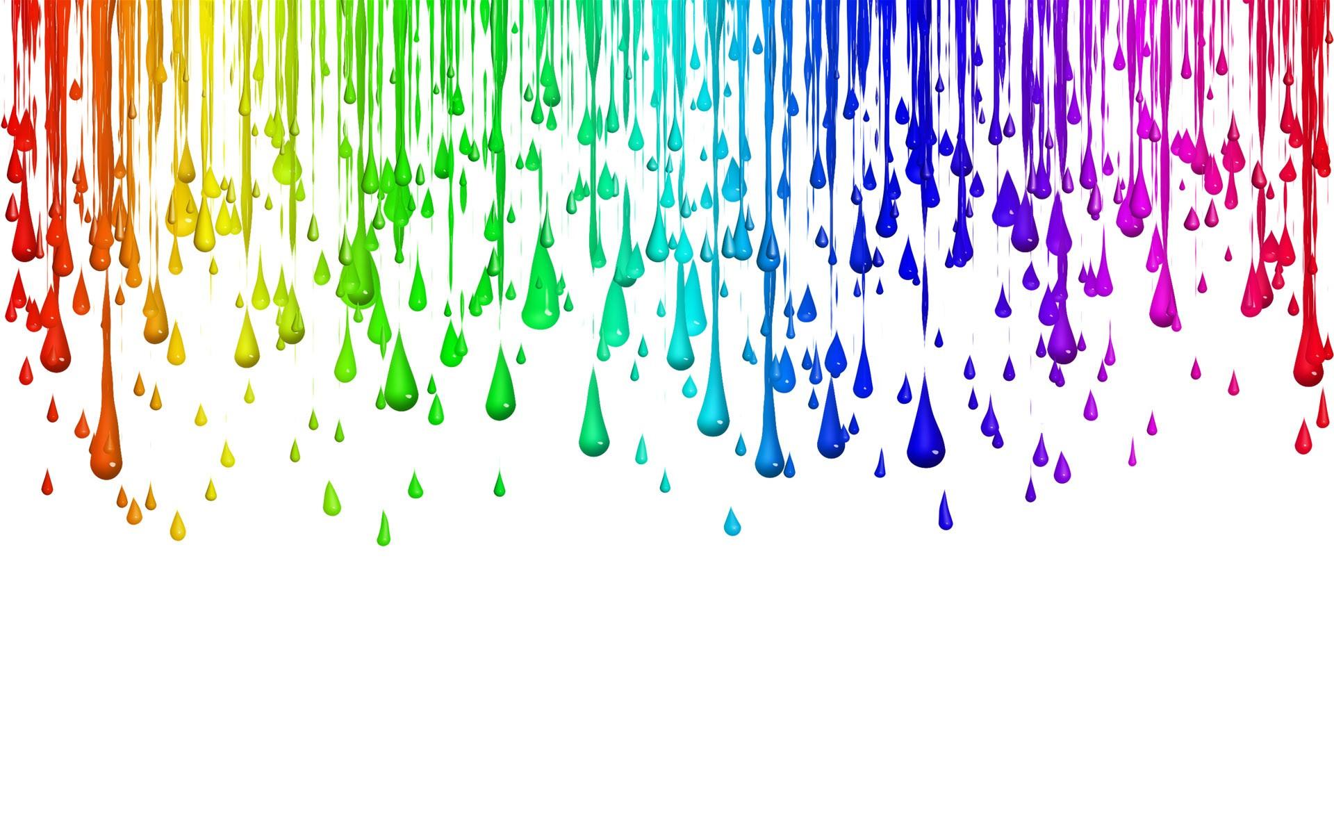 Paint drops wallpaper 3593 1920x1200