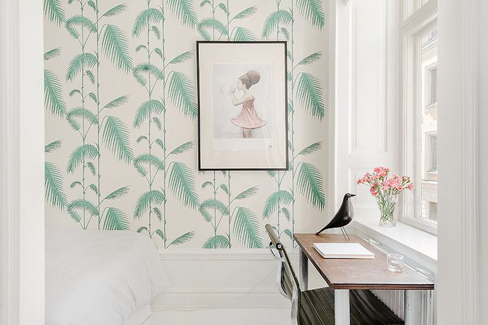 cole and son palm wallpaper wallpapersafari. Black Bedroom Furniture Sets. Home Design Ideas