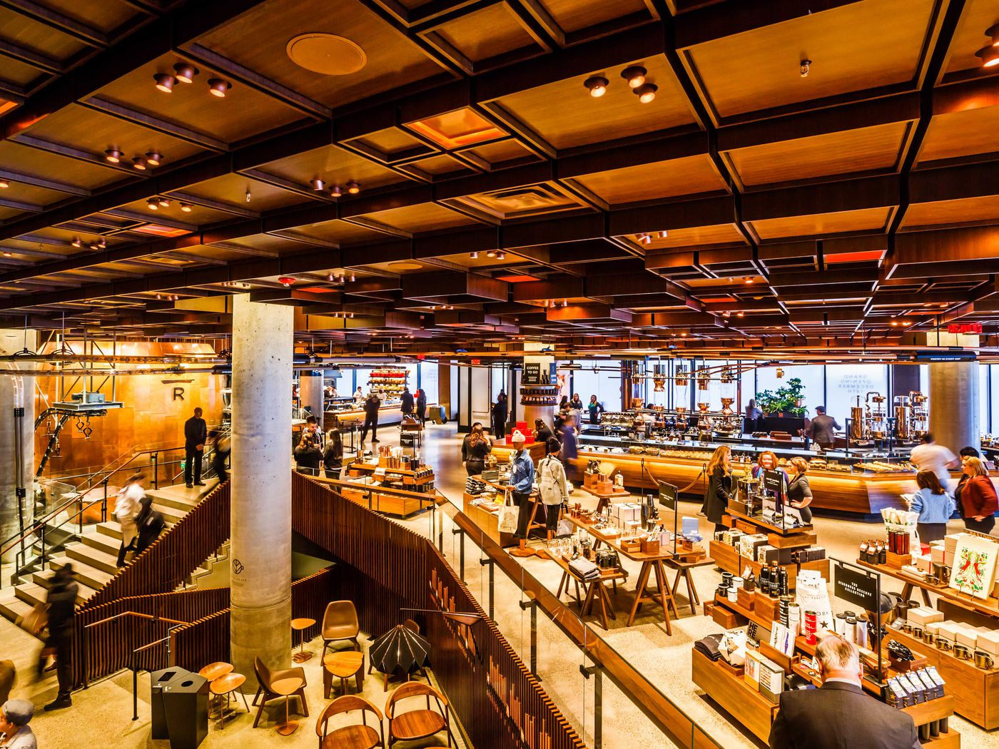 Starbucks Reserve Roastery Opens in Chelsea With 3 Stories   Eater NY 1400x1050