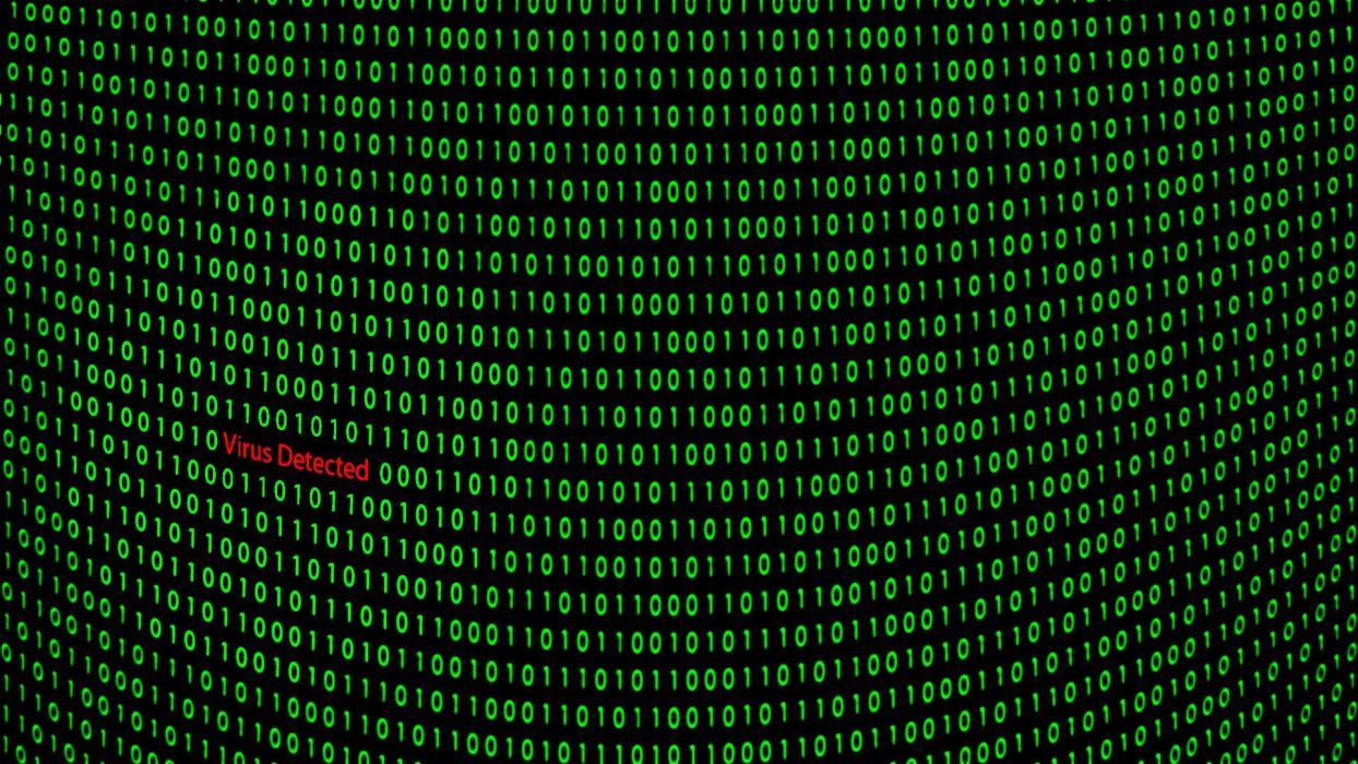 10 Virus Detected Wallpapers   Download at WallpaperBro 1244x700