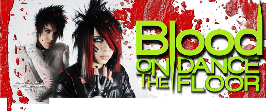 Blood on the dance floor Facebook Cover   timelinecoverbannercom 851x357