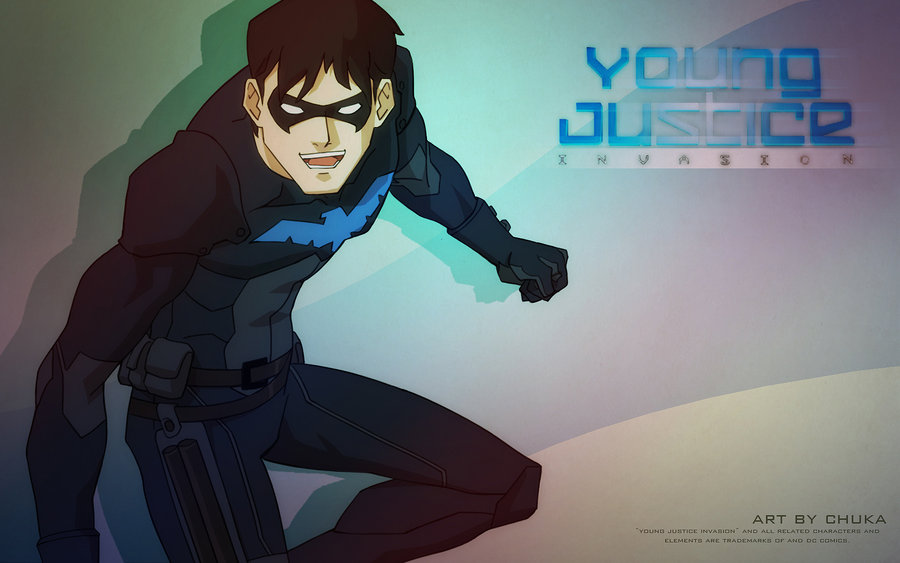 Nightwing Young Justice Nightwing by idaiku17 900x563