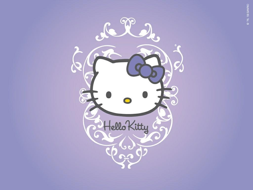 Hello kitty wallpaper for tablet wallpapersafari wallpaper con una imagen de la popular hello kitty voltagebd Image collections