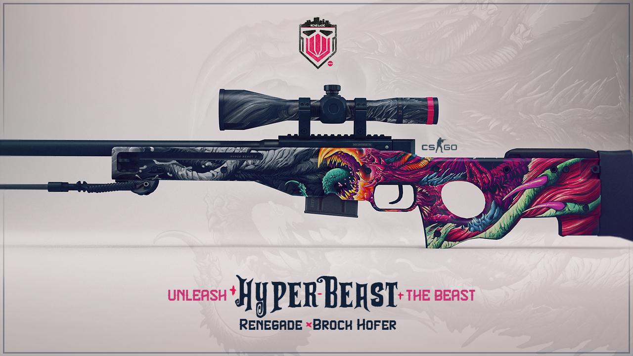 Awp Hyper Beast Wallpaper Wallpapersafari