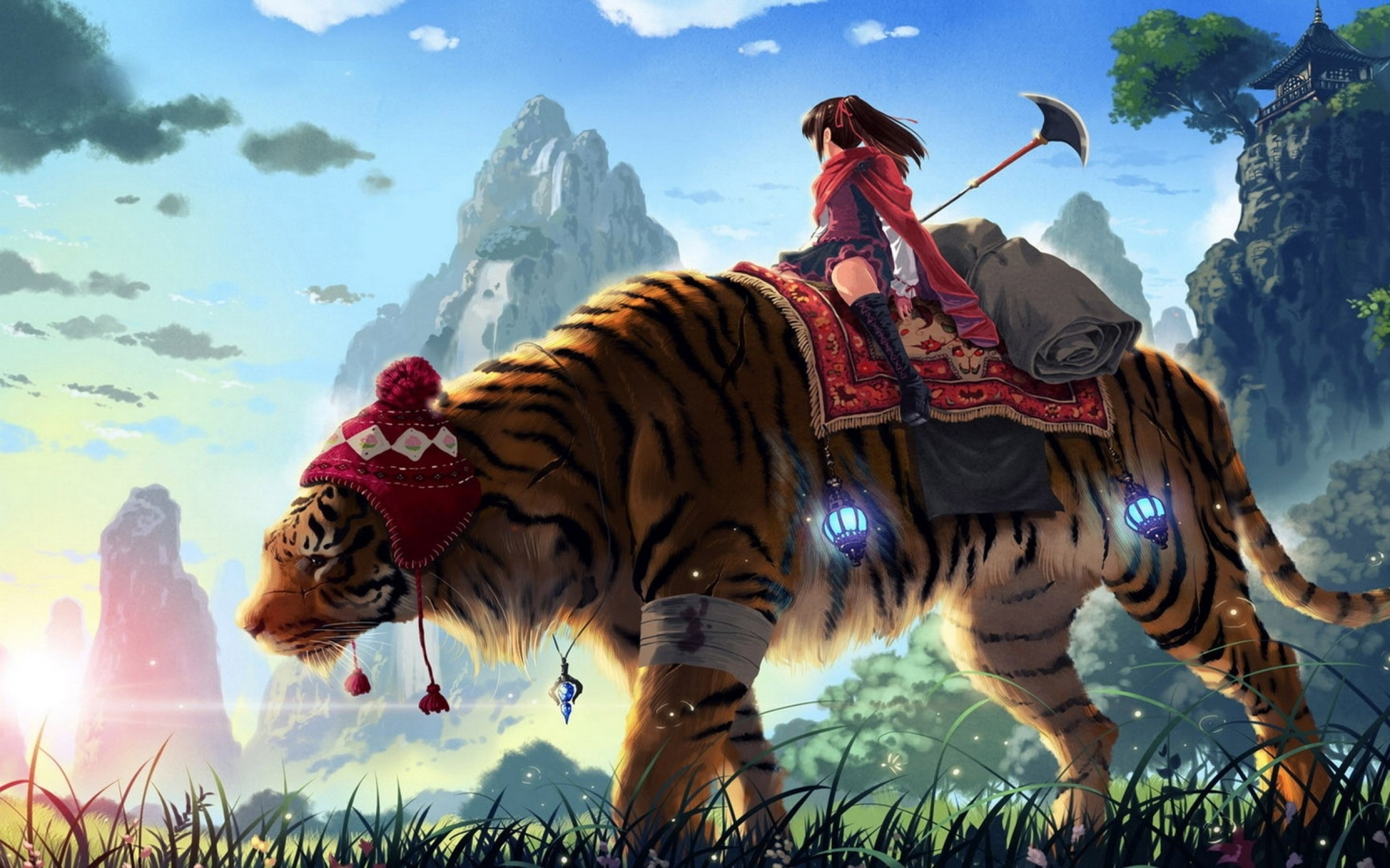 Epic Anime Art Character Wallpaper HD Desktop 1646 Wallpaper 2560x1600